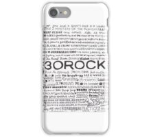 138 Episodes of 30 Rock iPhone Case/Skin