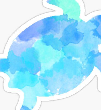 Watercolor turtle Sticker
