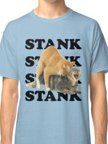 STANK CAT hoot SWAGGIN hoot SHIRT AIGHT Classic T-Shirt