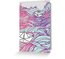 BOATS90 Greeting Card
