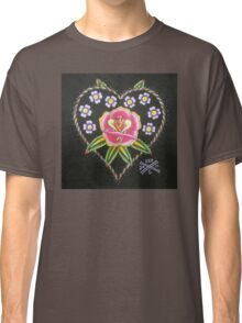Heart and Rose Classic T-Shirt