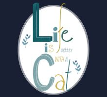 Life is better with a Cat One Piece - Short Sleeve