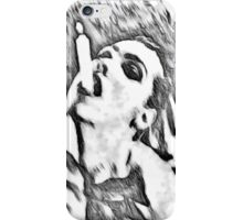 Need a light? - black and white iPhone Case/Skin