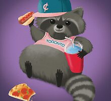 Rad Raccoon by StudioMarimo