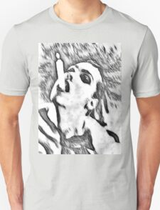 Need a light? - black and white Unisex T-Shirt