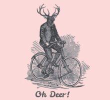 Oh Deer! One Piece - Long Sleeve
