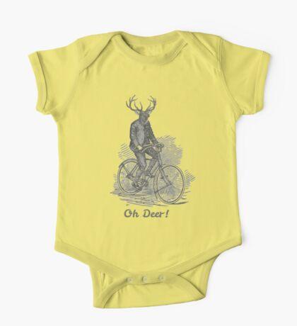 Oh Deer! One Piece - Short Sleeve