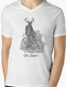 Oh Deer! Mens V-Neck T-Shirt