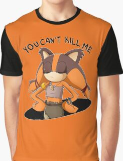 (Sonic Boom) Sticks the Badger - You Can't Kill Me Graphic T-Shirt
