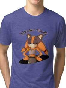 (Sonic Boom) Sticks the Badger - You Can't Kill Me Tri-blend T-Shirt