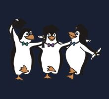 Graduation Penguins  Kids Tee