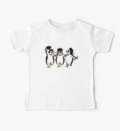 Graduation Penguins  Baby Tee