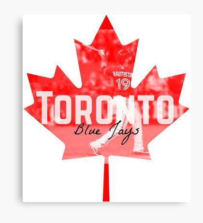 Toronto Blue Jays Canada Canvas Print