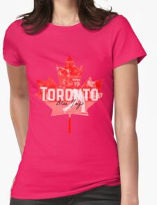 Toronto Blue Jays Canada Womens Fitted T-Shirt