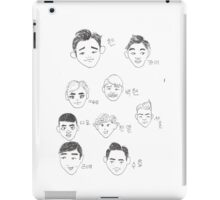 Cartoon Exo iPad Case/Skin