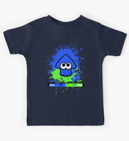 Kid or Squid Splatoon Kids Tee