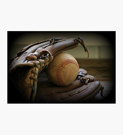 Glove-Ball Photographic Print