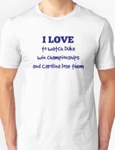 I Love . . .  T-Shirt