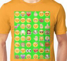 lime green emoji Unisex T-Shirt