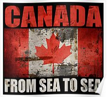 CANADA-FROM SEA TO SEA Poster