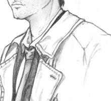 Castiel sketch a la season 4 Sticker