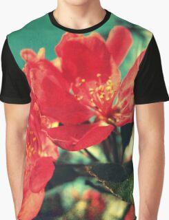 Retro Blossom Graphic T-Shirt