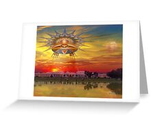 Sundown Cruise Greeting Card
