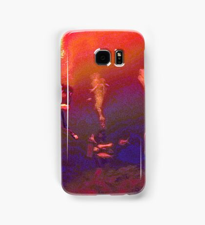 Psychedelic Diving Samsung Galaxy Case/Skin