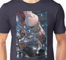 Apollo Command Module Saturn V Rocket Unisex T-Shirt