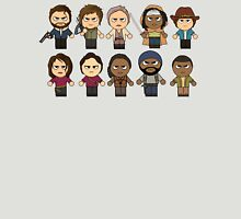 The Walking Dead - Main Characters Chibi - AMC Walking Dead Unisex T-Shirt