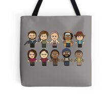 The Walking Dead - Main Characters Chibi - AMC Walking Dead Tote Bag