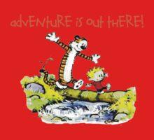 Calvin and Hobbes' Wonderful Adventure One Piece - Long Sleeve
