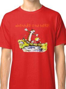 Calvin and Hobbes' Wonderful Adventure Classic T-Shirt
