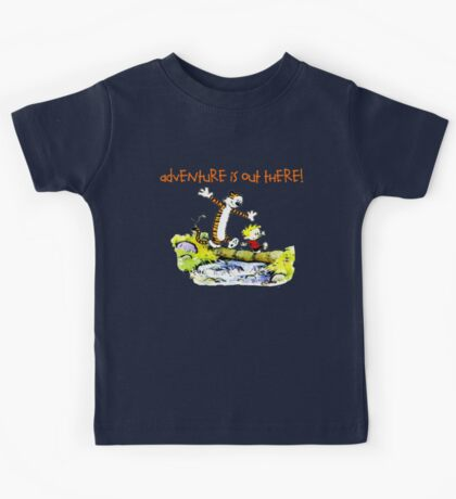 Calvin and Hobbes' Wonderful Adventure Kids Tee