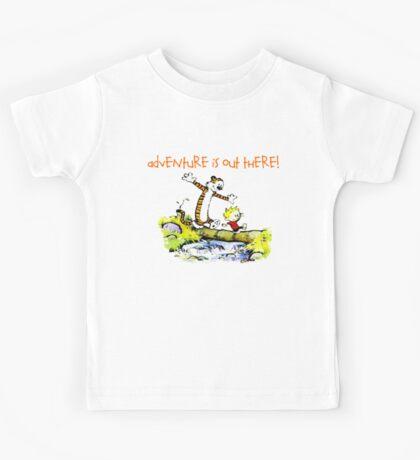 Calvin and Hobbes' Wonderful Adventure Kids Tee