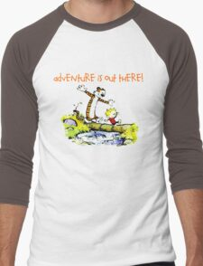 Calvin and Hobbes' Wonderful Adventure Men's Baseball ¾ T-Shirt