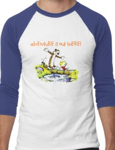 Calvin and Hobbes' Wonderful Adventure Men's Baseball ¾ T-Shirt