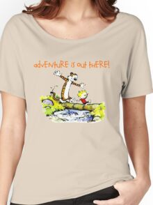 Calvin and Hobbes' Wonderful Adventure Women's Relaxed Fit T-Shirt