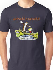 Calvin and Hobbes' Wonderful Adventure Unisex T-Shirt