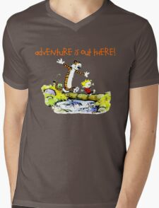Calvin and Hobbes' Wonderful Adventure Mens V-Neck T-Shirt