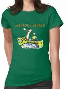 Calvin and Hobbes' Wonderful Adventure Womens Fitted T-Shirt
