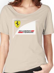 SCUDERIA FERRARI Women's Relaxed Fit T-Shirt