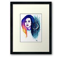 Lune Framed Print