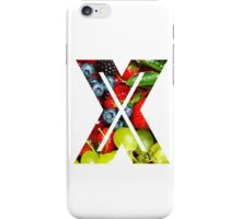 The Letter X - Fruit iPhone Case/Skin