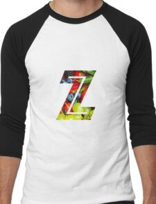 The Letter Z - Fruit Men's Baseball ¾ T-Shirt