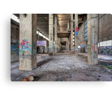 Old Powerhouse 1 - HDR Canvas Print