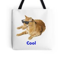 Cool Cat With Sunglasses Tote Bag