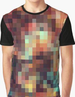 Nature Pixels No.11 Graphic T-Shirt