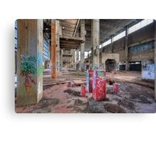 Old Powerhouse 2 - HDR Canvas Print