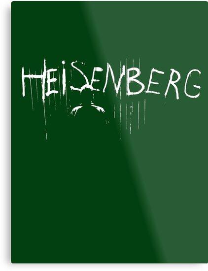 My name is Heisenberg - Graffiti Spray Paint Breaking Bad by ptelling